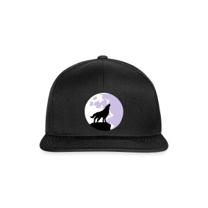 wolf and full moon Caps & luer - Snapback-caps