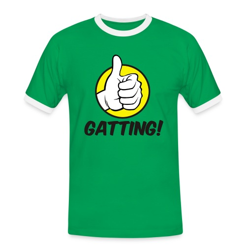 Gatting! - Männer Kontrast-T-Shirt