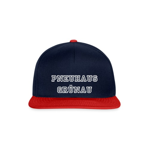 College-Snapback Blue-Red - Snapback Cap