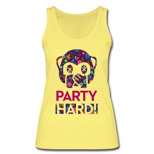 Party Hard! - Frauen Bio Tank Top