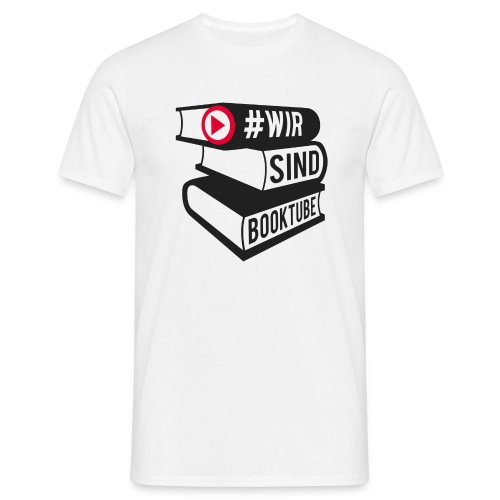 #wirsindbooktube Shirt - Männer T-Shirt