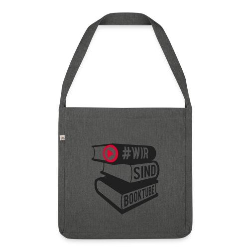 #wirsindbooktube Tasche - Schultertasche aus Recycling-Material