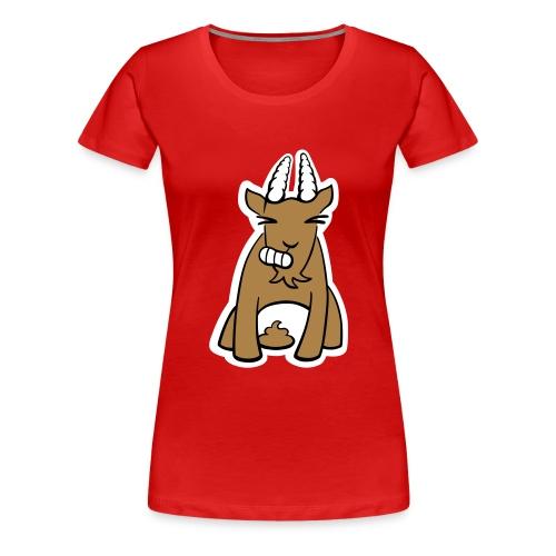Scheissbock - Frauen Premium T-Shirt