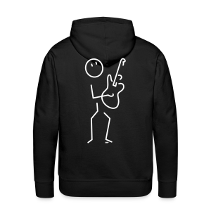 Electric guitar - Men's Premium Hoodie