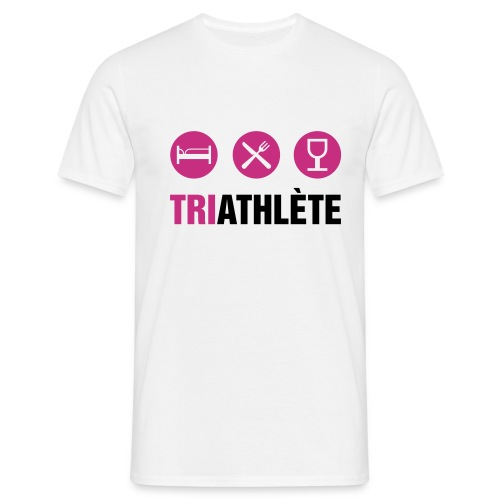TRIATHLON ROSE - T-shirt Homme