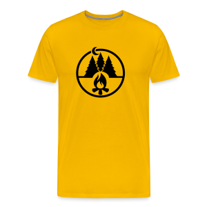 Campfire forest - Men's Premium T-Shirt
