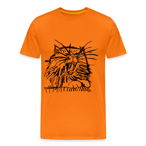 katze T-Shirts - Männer Premium T-Shirt