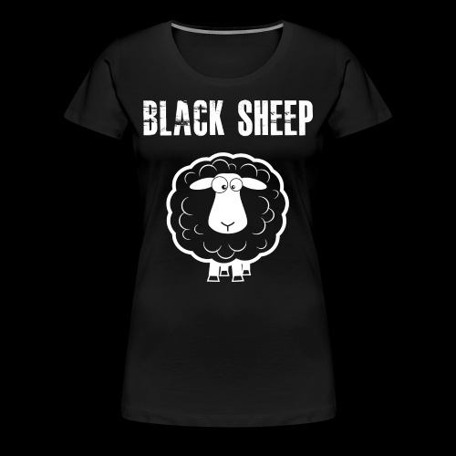 Black Sheep Women - Frauen Premium T-Shirt