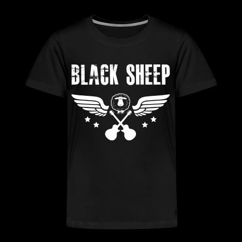 Black Sheep Wings Kids - Kinder Premium T-Shirt