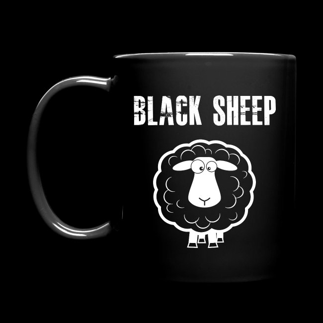 Black Sheep Mug Lefty