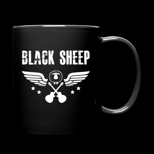 Black Sheep Wings Both Sides - Tasse einfarbig