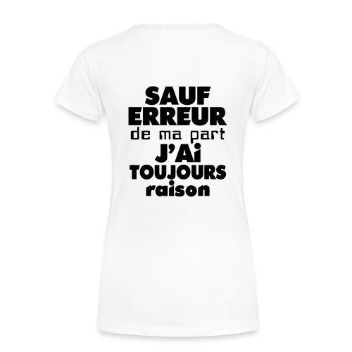 T-shirt Classique Femme Enicay - T-shirt Premium Femme
