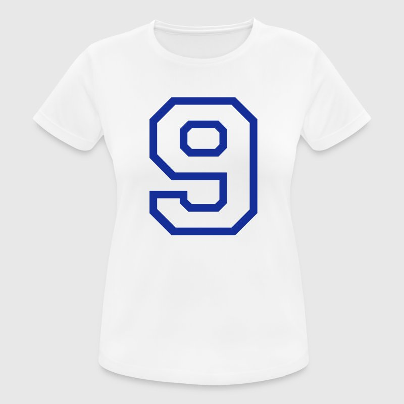 THE NUMBER 9-NINE T-Shirts - Women's Breathable T-Shirt