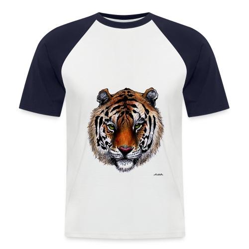 Jeffrey PlayZ T-shirt  - Mannen baseballshirt korte mouw