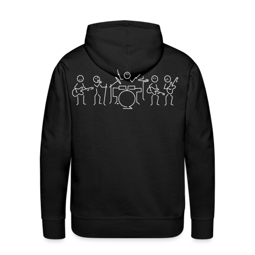Rock band - Men's Premium Hoodie