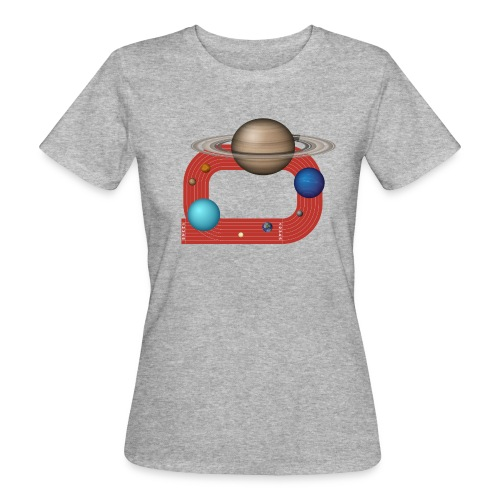 Orbit People - Frauen Bio-T-Shirt