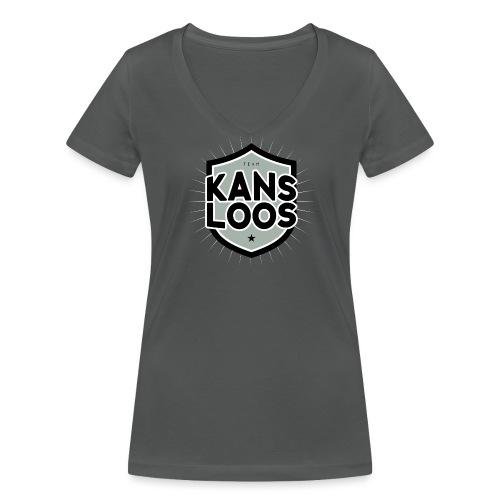 Team kansloos vrouwen v-hals bio - Vrouwen bio T-shirt met V-hals van Stanley & Stella