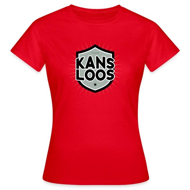Team kansloos vrouwen t-shirt
