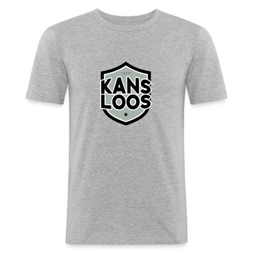 Team kansloos mannen slimfit - slim fit T-shirt