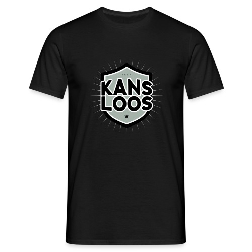 Team kansloos mannen t-shirt - Mannen T-shirt
