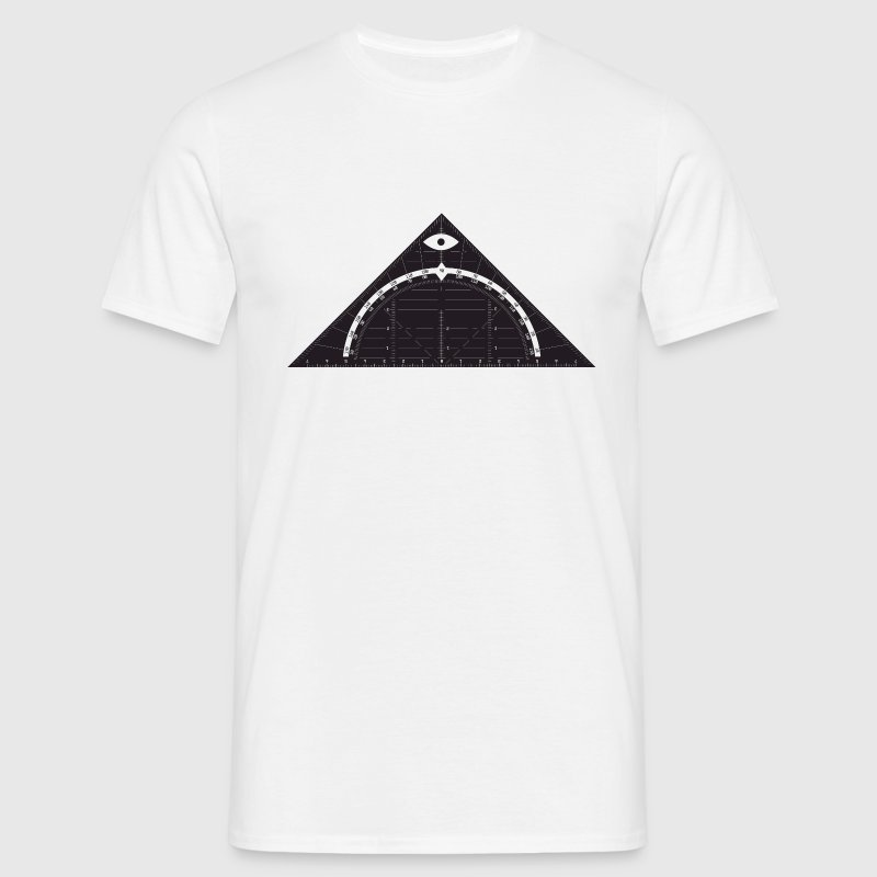 All Seeing Triangle T-shirts - Mannen T-shirt