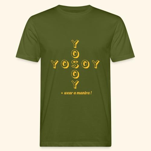 YO SOY eco man tshirt - T-shirt ecologica da uomo