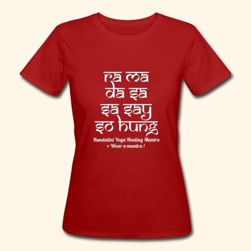 RA MA DA SA eco woman tshirt - T-shirt ecologica da donna