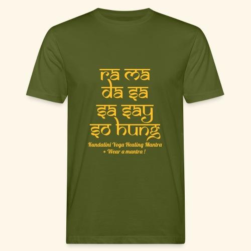 RA MA DA SA eco man tshirt - T-shirt ecologica da uomo