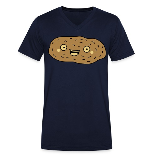 Funny Potato - Shirt - Männer Bio-T-Shirt mit V-Ausschnitt von Stanley & Stella