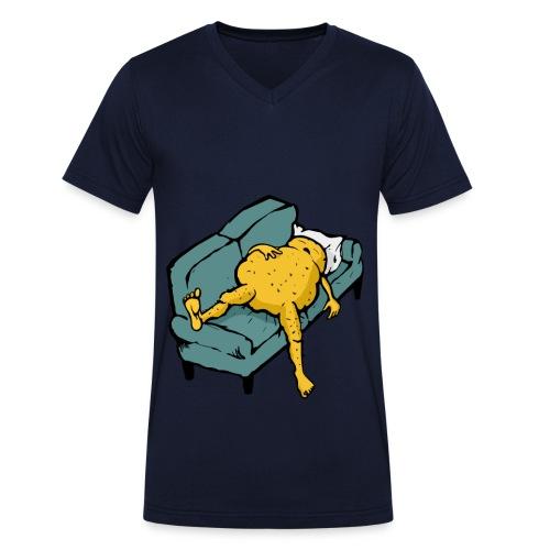Sleeping Potato - Shirt - Männer Bio-T-Shirt mit V-Ausschnitt von Stanley & Stella