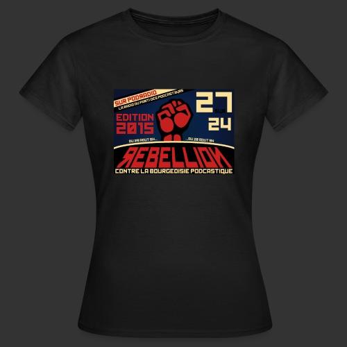 27/24 2015 - Femme - T-shirt Femme