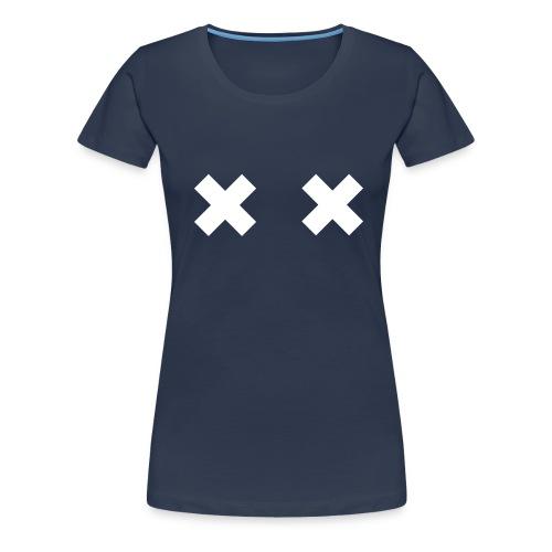 Cross Shirt - Frauen Premium T-Shirt