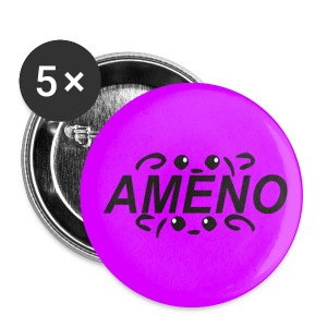 As2piK - Badge Ameno Rose - Badge moyen 32 mm