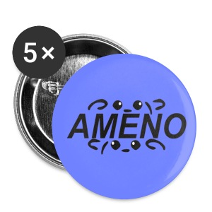 As2piK - Badge Ameno Violet - Badge moyen 32 mm