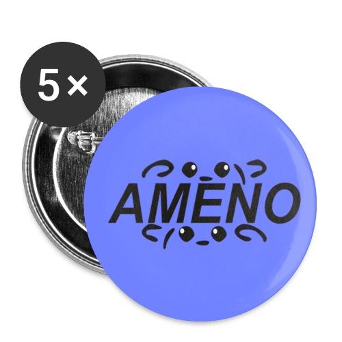 As2piK - Badge Ameno Violet - Badge moyen 32 mm
