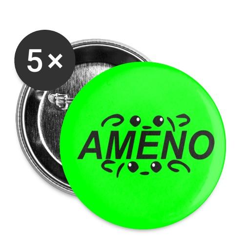 As2piK - Badge Ameno Vert - Badge moyen 32 mm