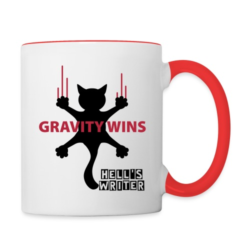 Mug No Gravity Black Cat - Mug contrasté