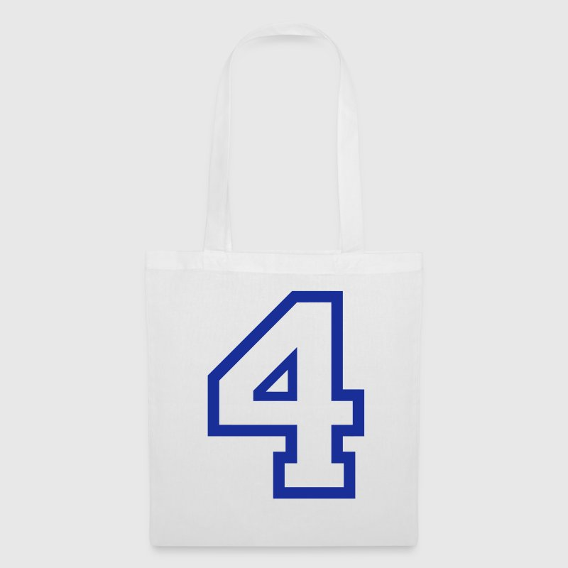 THE NUMBER 4-4 Bags & Backpacks - Tote Bag