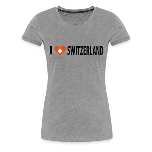 Frauen T-Shirt Switzerland - Frauen Premium T-Shirt