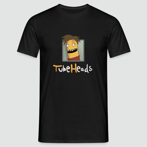 T-Shirt TubeHeads Logo groß für dunkle Shirts - Männer T-Shirt