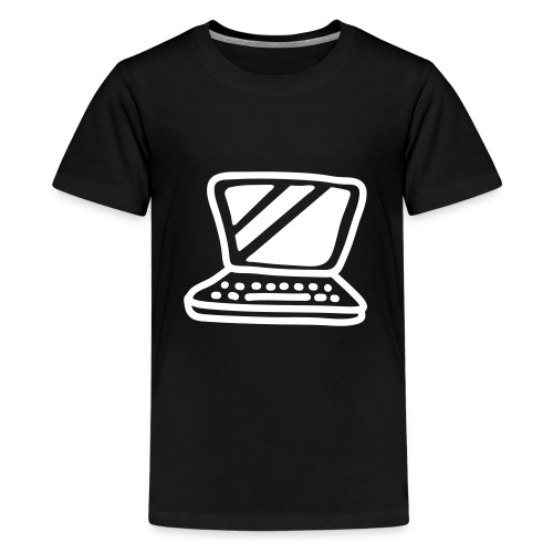 laptop  - Teenager Premium T-shirt