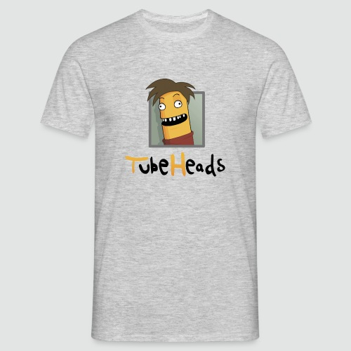 T-Shirt TubeHeads Logo groß für helle Shirts - Männer T-Shirt