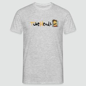 T-Shirt TubeHeads Logo klein für helle Shirts - Männer T-Shirt