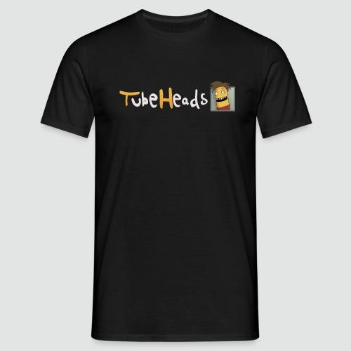 T-Shirt TubeHeads Logo klein für dunkle Shirts - Männer T-Shirt