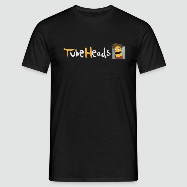 T-Shirt TubeHeads Logo klein für dunkle Shirts