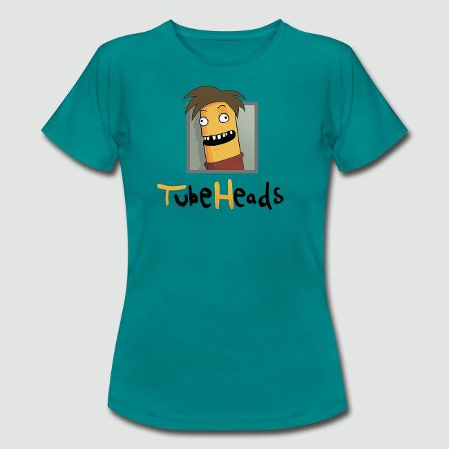 T-Shirt TubeHeads Logo groß für helle Shirts