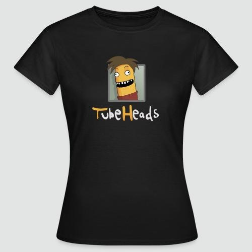T-Shirt TubeHeads Logo groß für dunkle Shirts - Frauen T-Shirt