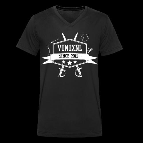 MAN   VonoxNL Vintage V-hals - Mannen bio T-shirt met V-hals van Stanley & Stella