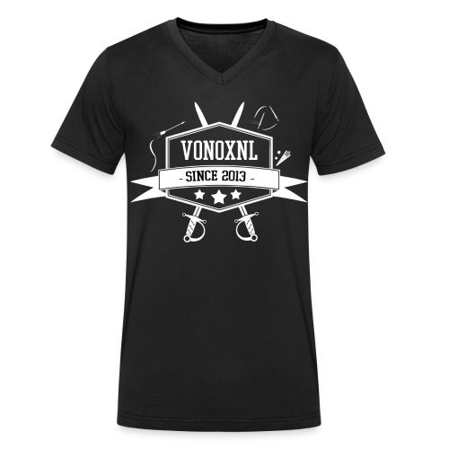 MAN | VonoxNL Vintage V-hals - Mannen bio T-shirt met V-hals van Stanley & Stella