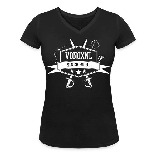 VROUW | VonoxNL Vintage V-hals - Vrouwen bio T-shirt met V-hals van Stanley & Stella